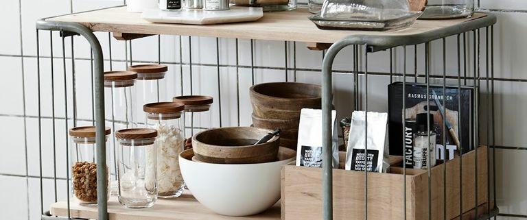 organizacion en la cocina