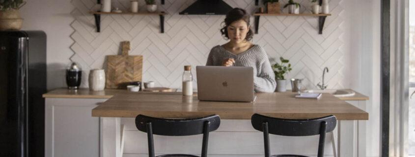 office en la cocina